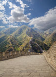Great Wall of China, north of Beijing Royalty Free Stock Photos