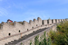 Great Wall of China, north of Beijing Stock Photography