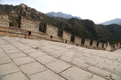 Great Wall of China, north of Beijing Stock Images