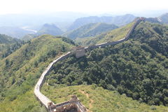 Great Wall of China. One day i explored the wall of china Royalty Free Stock Image
