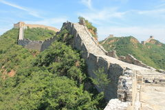 Great Wall of China. One day i explored the wall of china Stock Photo