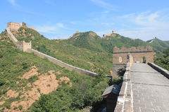 Great Wall of China. One day i explored the wall of china Stock Photography
