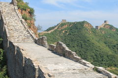 Great Wall of China. One day i explored the wall of china Royalty Free Stock Photos
