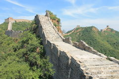 Great Wall of China. One day i explored the wall of china Stock Photos