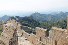 Great Wall of China. One day i explored the wall of china Stock Image