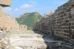 Great Wall of China. One day I explored the wall of china Royalty Free Stock Photo