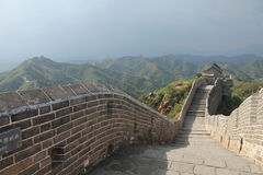 Great Wall of China. One day I walk the wall of china Royalty Free Stock Photography