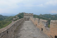 Great Wall of China. One day I walk the wall of china Royalty Free Stock Photo