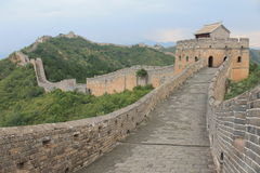 Great Wall of China. One day I walk the wall of china Stock Photo