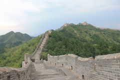 Great Wall of China. One day I walk the wall of china Stock Image