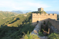 Great Wall of China. One day I walk the wall of china Royalty Free Stock Image