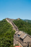 Great Wall of China. Outside of Beijing Royalty Free Stock Images