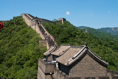 Great Wall of China. Outside of Beijing Stock Images