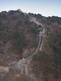 Great Wall of China. The Great Wall of China outside Beijing Royalty Free Stock Photography