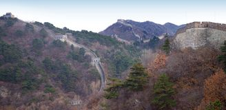 Great Wall of China. The Great Wall of China outside Beijing Stock Images