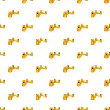Great Wall of China pattern, cartoon style. Great Wall of China pattern. Cartoon illustration of Great Wall of China vector pattern for web Royalty Free Stock Photography