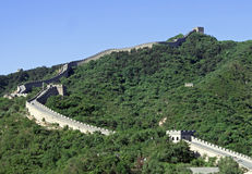 Great Wall of China, section in Badaling. Beijing. Royalty Free Stock Photography