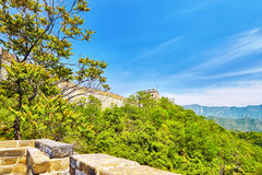 Great Wall of China, section Royalty Free Stock Image