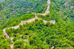 Great Wall of China, section Stock Photos