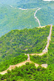 Great Wall of China, section Royalty Free Stock Photo