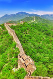 Great Wall of China, section Royalty Free Stock Images