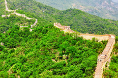Great Wall of China, section Stock Photo
