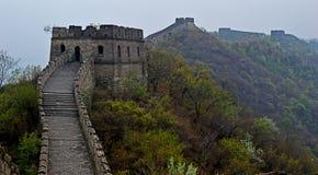 Great wall of china mutianyu. Great Wall of China section at mutianyu Royalty Free Stock Images