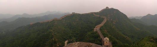 Great Wall of China. Shinshanling stock photo