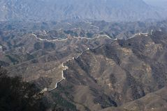 Great Wall of china simatai Royalty Free Stock Photos
