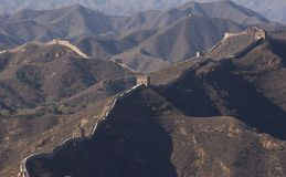 Great Wall of china simatai Royalty Free Stock Photography