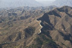 Great Wall of china simatai Stock Image