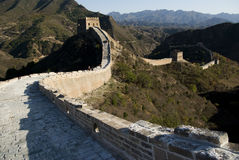 Great Wall of china simatai Royalty Free Stock Image