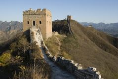 Great Wall of china simatai Stock Photos