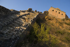 Great Wall of china simatai Royalty Free Stock Images
