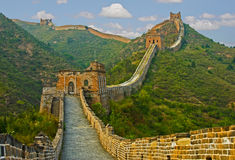 Great Wall of China. At Simatai Royalty Free Stock Image