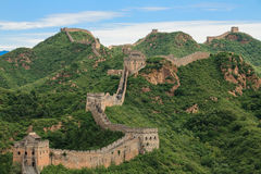 Great Wall of China in Simatai. Stock Photography