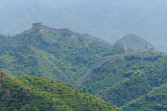The Great Wall of China in the Smog Stock Photography