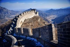 Great Wall of China Royalty Free Stock Photography