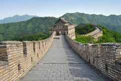 Great Wall of China in Summer Stock Photos