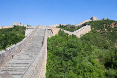 Great Wall of China at Sunny Day Royalty Free Stock Photography