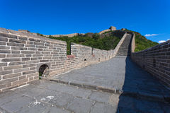 Great Wall of China at Sunny Day Royalty Free Stock Images