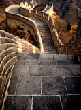 Great Wall of China on a Sunny Day Royalty Free Stock Photography