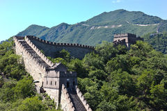 The Great Wall of China. At sunrise Stock Images