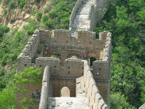 Great Wall of China Tower. A tower on the Great Wall of China Royalty Free Stock Photo