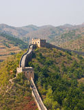 Great Wall of China towers Royalty Free Stock Photography