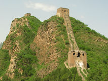 Great Wall of China Towers. A run of towers on the Great Wall of China Stock Images