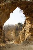 Great Wall of China. The great unrestored wild wall Stock Images