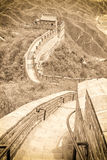The Great Wall in China Royalty Free Stock Photography