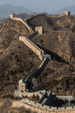 Great wall of china in winter Royalty Free Stock Photography