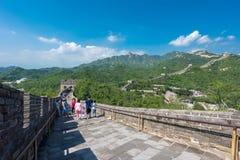 Great Wall of China. stock image